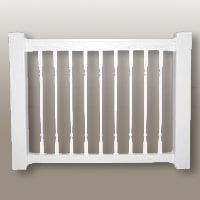 "42″ High ""B"" Style Kit with Colonial Balusters"