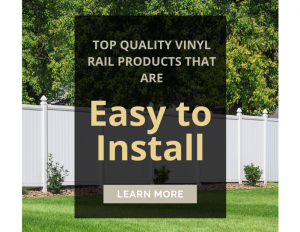 Top Quality Vinyl Rail Products